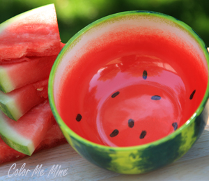 Bee Cave Watermelon Bowl